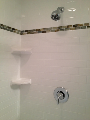 subway tile shower installation south tampa florida