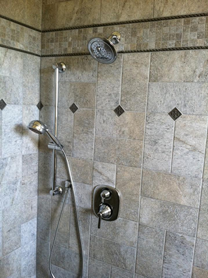 tarpon springs custom tile shower installation