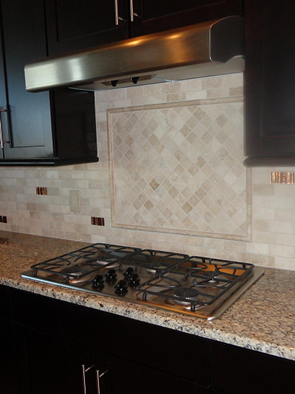lutz florida custom creme 2x4 travertine glass subway tile back splash backsplash tile installation