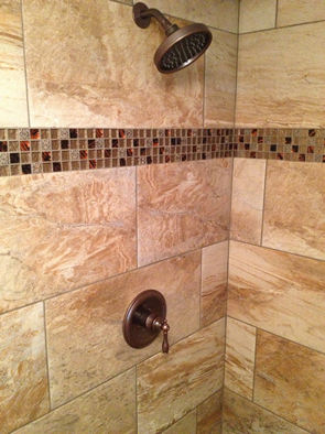 brandon florida 12x25 custom master bathroom tile shower renovation installation installer