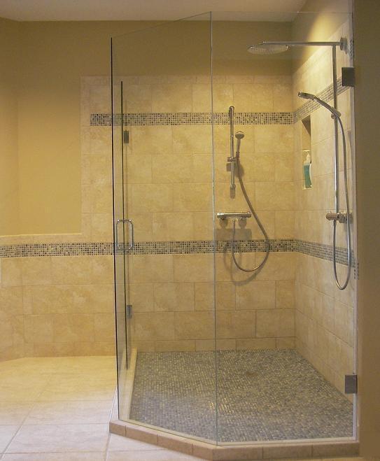 Waterproofing Bathroom Floor Before Tiling: Travertine Shower, Tub & Floor Installation In Wesley