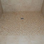 roll in curbless barrier free florida shower kerdi waterproofing kerdi drain