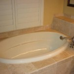 Florida Travertine tile shower floors walls flooring contractor installer installation