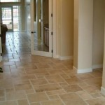 Tampa Chiseled Edge Travertine in a Versailles Pattern