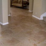 Tampa Honed Finish Travertine in a Brick Pattern