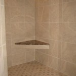 brandon master bathroom shower mosaic porcelain kerdi drain waterproofing florida