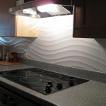 clearwater beach florida custom tile back splash installation