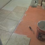 Ditra Installation Tampa Florida Tile Contractor