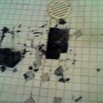 Mold on Shower Floor