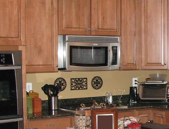 Ceramictec Multi Color Tumbled Slate Kitchen Backsplash