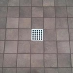 glazed porcelain shower floor tile Ebbe drain tampa orlando florida
