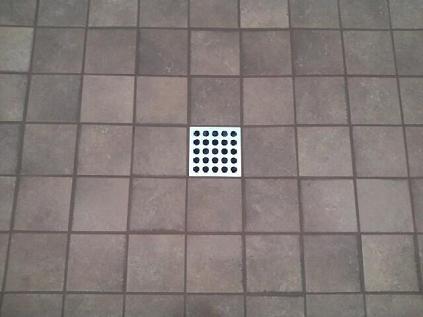 Shower drains for tile tile design ideas for Tiling bathroom floor preparation