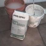 Florida Ceramic Tile Shower sanded grout wall & floor tile florida