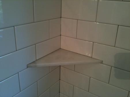 Ceramictec Making A Carrara Marble Soap Amp Niche Shelf