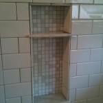 15 marble corner niche soap shelf shelve tampa florida sarasota orlando custom master bathroom tile