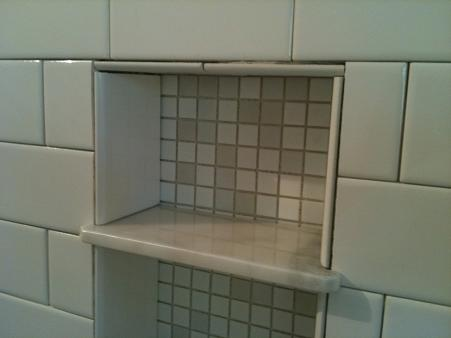 ... Picture Bathroom Niche Shelves
