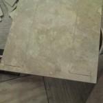 z1 tampa orlando brandon bradenton St petersburg largo clearwater custom travertine soap niche shelf shelves