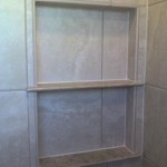 z11 tampa orlando brandon bradenton St petersburg largo clearwater custom travertine soap niche shelf shelves
