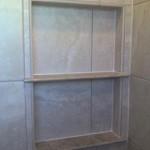 z11 tampa orlando brandon bradenton St petersburg largo clearwater custom travertine soap niche shelf shelves
