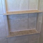 z12 tampa orlando brandon bradenton St petersburg largo clearwater custom travertine soap niche shelf shelves