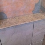 z4 tampa orlando brandon bradenton St petersburg largo clearwater custom travertine soap niche shelf shelves