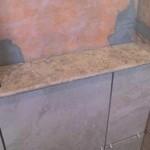 z4 tampa orlando brandon bradenton St petersburg largo clearwater custom travertine soap niche shelf shelves