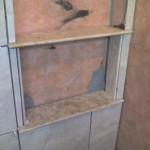 z5 tampa orlando brandon bradenton St petersburg largo clearwater custom travertine soap niche shelf shelves