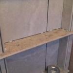 z6 tampa orlando brandon bradenton St petersburg largo clearwater custom travertine soap niche shelf shelves