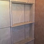z7 tampa orlando brandon bradenton St petersburg largo clearwater custom travertine soap niche shelf shelves