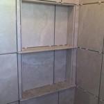 z9 tampa orlando brandon bradenton St petersburg largo clearwater custom travertine soap niche shelf shelves