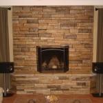 tampa sarasota bradenton venice largo clearwater seminole veneer stacked stone fireplace florida