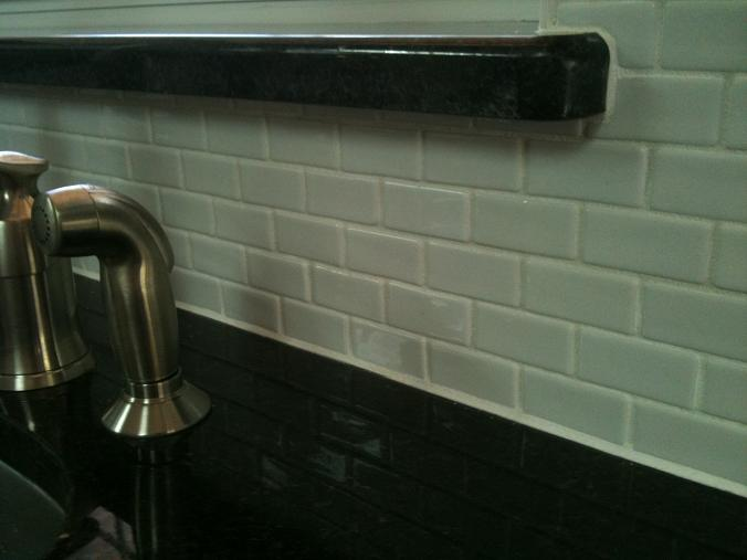 installing ceramic wall tile kitchen backsplash ceramictec recycled glass tile backsplash installation 26966