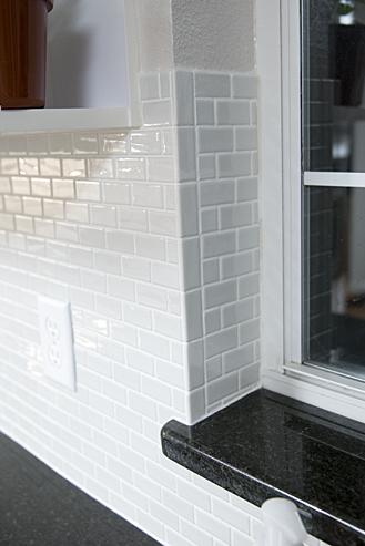 Ceramictec Recycled Glass Tile Backsplash Installation
