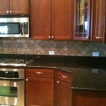 tumbled travertine noce 6x6 backsplash tampa wesley chapel florida