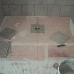 Accessible Handicap Barrier Free tile Shower installation Tampa florida
