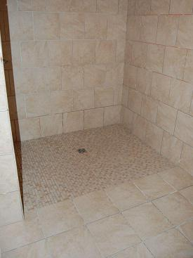 Ceramictec Accessible Handicap Barrier Free Shower Tampa