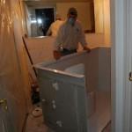 Accessible Handicap Barrier Free tile Shower installation Tampa florida