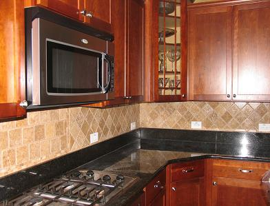 Travertine Backsplash Wesley Chapel Florida Ceramictec