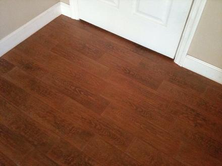 Ceramictec - Porcelain Plank Tile Installation - Tampa Florida - Wood Look Ceramic Tile Flooring WB Designs
