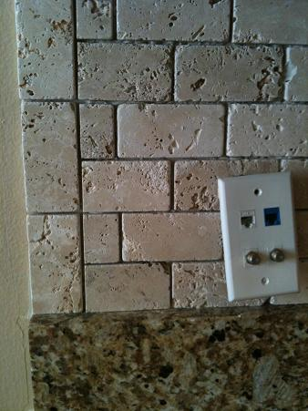 Glass Tile Backsplash HELP!! Ends??? - Ceramic Tile Advice Forums - John  Bridge Ceramic Tile