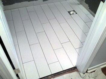 bathroom floor tile plank. Pebble Shower \u0026 Plank Tile Bathroom Tampa St Petersburg Pete Sarasota Brandon Brandenton Largo Floor U