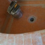 custom master bath shower kerdi waterproofing granite sill tile grout tampa brandon bradenton largo st petersburg florida