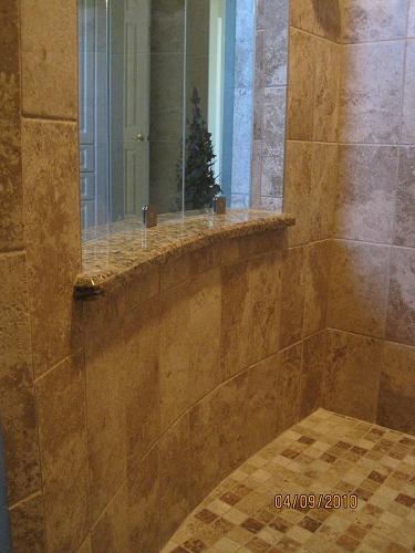 Ceramic Plank Tile >> Ceramictec - Florida Curbless Walk In Waterproofed Tile