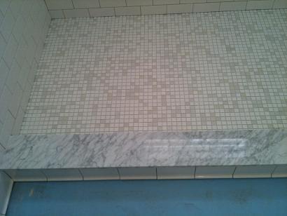 Ceramictec Subway Carrara Amp Glass Tile Bathroom St