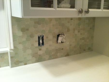 Polished Green River Onyx Mosaic Walker Zanger Backsplash Tile Installation  Install Installer New Tampa Sarasota Brandon