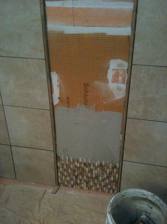 Ceramictec Custom Tile Shower Waterproofed With Schluter