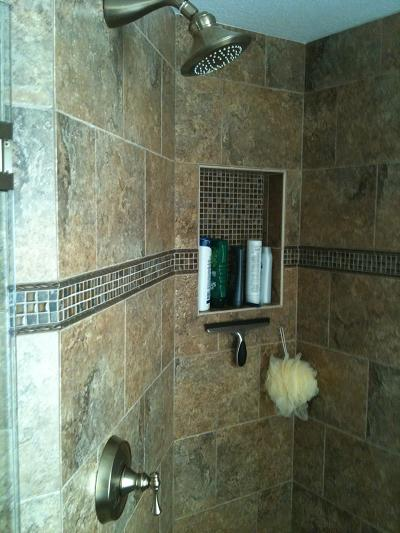 Ceramictec New Tampa Bathroom Shower Floor Tile Remodel