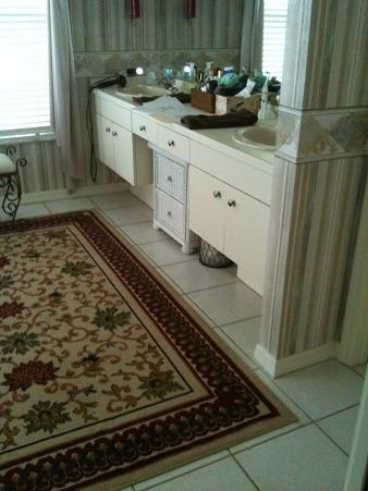 Ceramictec New Tampa Bathroom Shower Floor Tile Remodel