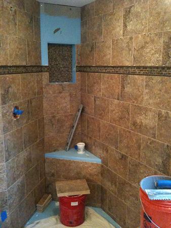 Ceramictec New Tampa Bathroom Shower Amp Floor Tile Remodel