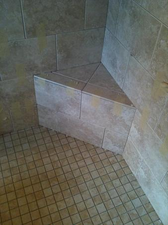 Ceramictec Custom Bathroom Tile Remodel In Tampa Florida